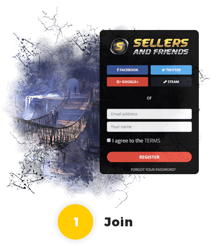 Join Us - Sellers & Friends